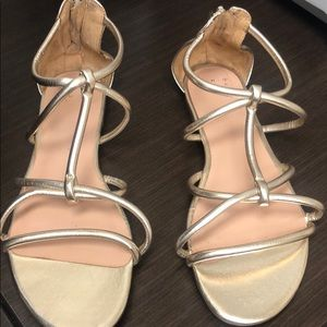 """Target Brand """"A New Day"""" Gold Sandals"""